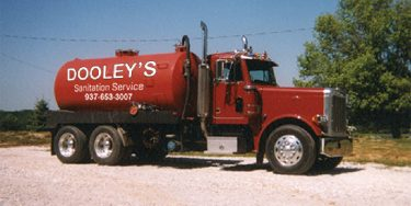 dooley's sanitation service pump truck