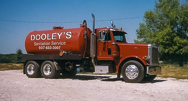 Dooley's Sanitation Service Septic Pump Truck